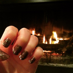My New Year's Eve mani